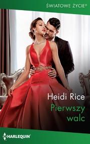okładka Pierwszy walc, Ebook   Heidi  Rice