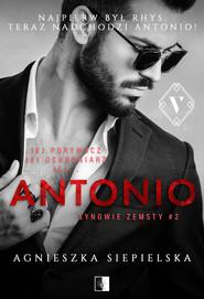 okładka Antonio, Ebook | Agnieszka Siepielska
