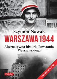okładka Warszawa 1944, Ebook   Szymon Nowak