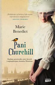 okładka Pani Churchill, Książka   Marie Benedict