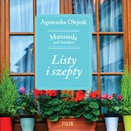 okładka Listy i szepty, Audiobook   Agnieszka Olejnik