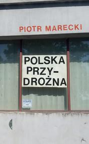 okładka Polska przydrożna, Ebook | Piotr  Marecki