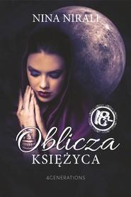 okładka Oblicza księżyca, Ebook | Nina Nirali
