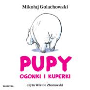 okładka Pupy, ogonki i kuperki, Audiobook   Mikołaj Golachowski