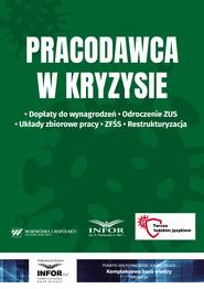okładka Pracodawca w kryzysie, Ebook | Kancelaria Wojewódka i Wspólnicy .