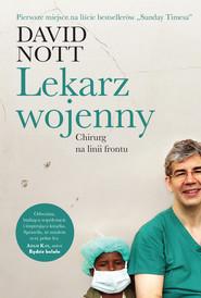 okładka Lekarz wojenny, Ebook | David  Nott