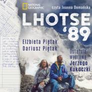 okładka Lhotse'89. Ostatnia wyprawa Jerzego Kukuczki, Audiobook | Dariusz Piętak