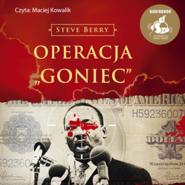 "okładka Operacja ""Goniec"", Audiobook | Steve Berry"