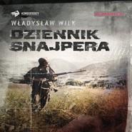 okładka Dziennik snajpera, Audiobook   Władysław Wilk