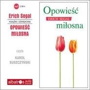 okładka Opowieść miłosna, Audiobook | Erich Segal