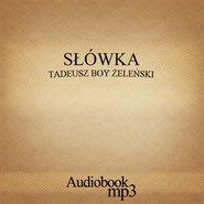 okładka Słówka, Audiobook | Tadeusz Boy-Żeleński