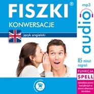 okładka FISZKI audio – j. angielski – Konwersacje, Audiobook | Leman Joanna