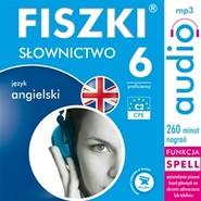 okładka FISZKI audio - j. angielski Słownictwo 6, Audiobook | Wojsyk Patrycja