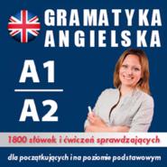 okładka Gramatyka angielska na poziomie A1, A2 dla początkujących, Audiobook | Dvoracek Tomas