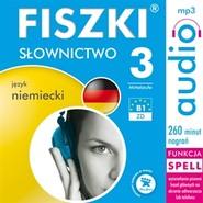 okładka FISZKI - język niemiecki - Słownictwo 3, Audiobook | Perczyńska Kinga