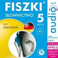 okładka FISZKI - język niemiecki - Słownictwo 5, Audiobook | Perczyńska Kinga