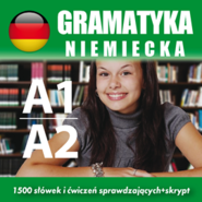 okładka Gramatyka niemiecka A1, A2, Audiobook | Dvoracek Tomas