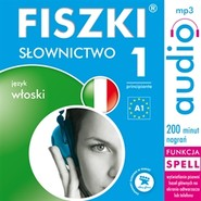 okładka FISZKI - język włoski. Słownictwo 1, Audiobook | Wojsyk Patrycja