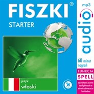 okładka FISZKI - język włoski. Starter, Audiobook | Wojsyk Patrycja