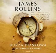 okładka BURZA PIASKOWA, Audiobook | James Rollins