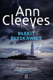 okładka Błękit błyskawicy. , Ebook   Ann Cleeves