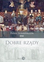 okładka Dobre rządy, Ebook   Rosanvallon Pierre