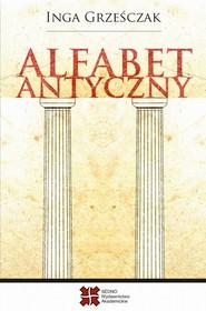 okładka Alfabet antyczny, Ebook | Inga Grześczak
