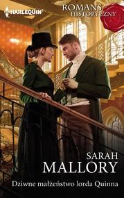 okładka Dziwne małżeństwo lorda Quinna, Ebook | Sarah Mallory