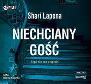 okładka Niechciany gość, Audiobook | Shari Lapeña