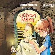 okładka Czerwony papirus, Audiobook | Dariusz Rekosz