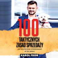 okładka 100 taktycznych zasad sprzedaży, Audiobook | Karol Froń