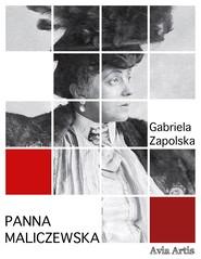 okładka Panna Maliczewska, Ebook | Gabriela Zapolska