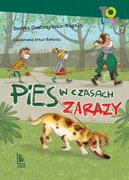okładka Pies w czasach zarazy, Ebook | Dorota Combrzyńska-Nogala