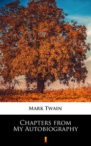okładka Chapters from My Autobiography, Ebook   Mark Twain
