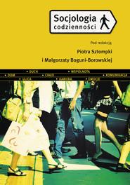 okładka Socjologia codzienności, Książka | Piotr Sztompka