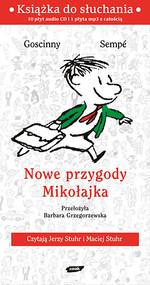 okładka Nowe przygody Mikołajka. Audio, Książka   René Goscinny, Jean-Jacques Sempé