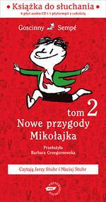 okładka Nowe przygody Mikołajka. Kolejna porcja. Audio, Książka   René Goscinny