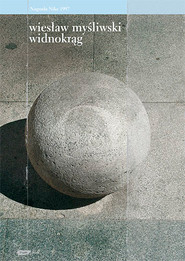 okładka Widnokrąg, Książka | Wiesław Myśliwski