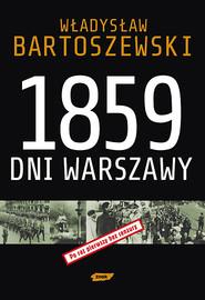 okładka 1859 dni Warszawy, Książka | Władysław Bartoszewski