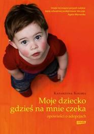 okładka Moje dziecko gdzieś na mnie czeka. Opowieści o adopcjach, Książka | Katarzyna Kolska