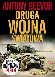 okładka Druga wojna światowa , Książka | Antony Beevor