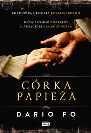 okładka Córka papieża, Książka   Dario Fo