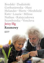 okładka Rozmowy, Książka   Jerzy Illg