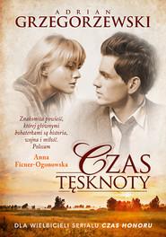 okładka Czas tęsknoty, Książka | Adrian Grzegorzewski