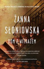 okładka Dom z witrażem, Książka | Żanna Słoniowska