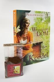 okładka Malownicze. Wymarzony dom z saszetką kawy, Książka | Magdalena Kordel