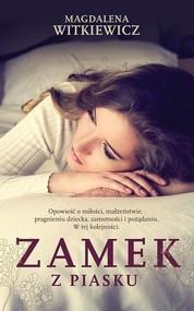 okładka Zamek z piasku, Książka | Magdalena Witkiewicz
