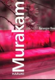 okładka Norwegian Wood, Książka   Haruki Murakami