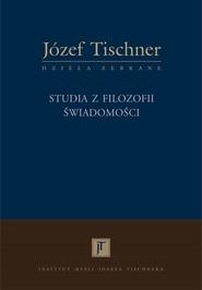okładka Studia z filozofii świadomości, Książka | Józef Tischner ks.