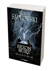 okładka Wiedźmin. Sezon burz , Książka | Sapkowski Andrzej